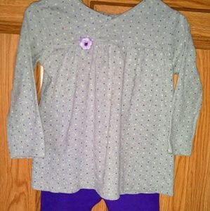 Carter's Little Girl's Outfit Size 18 Months